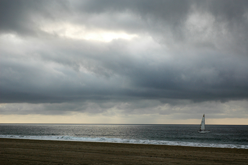 Sailboat at Redondo Beach