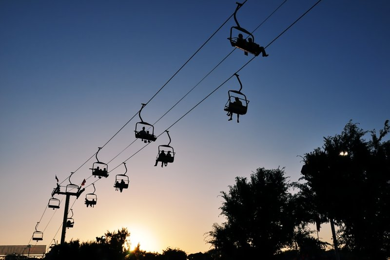 Sunset Sky Ride